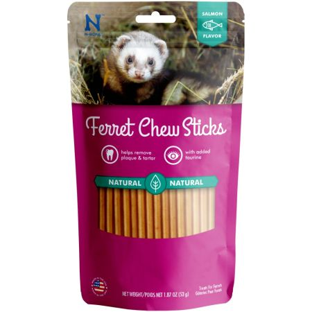 N-Bone N-Bone Ferret Chew Treats - Salmon Flavor