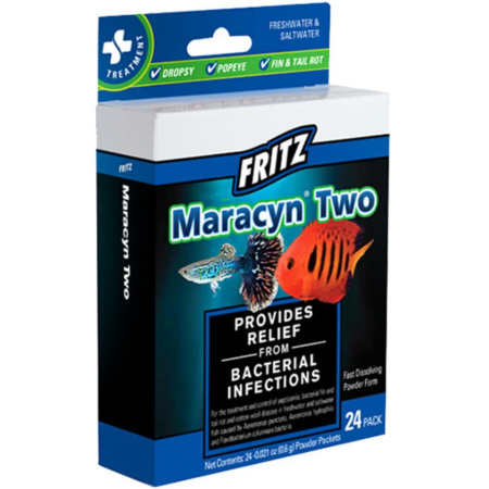 Mardel Maracyn Two Antibacterial Aquarium Medication - Powder alternate view 2