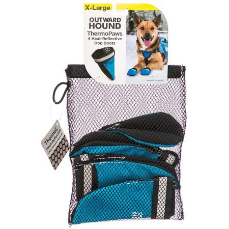 Outward Hound Outward Hound Thermo Paws Dog Boots - Blue