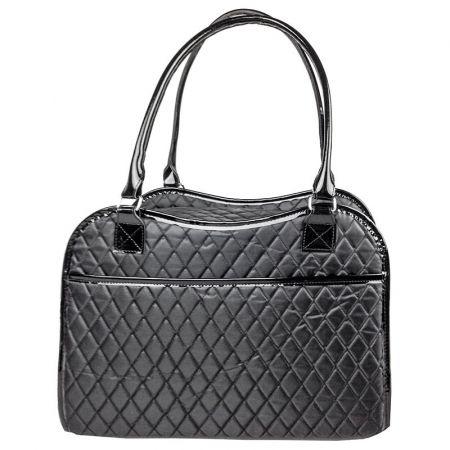 Pet Life Pet Life Exquisite Fashion Handbag Pet Carrier - Black