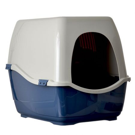 Marchioro Products Marchioro Bill S Hooded Litter Pan - Blue