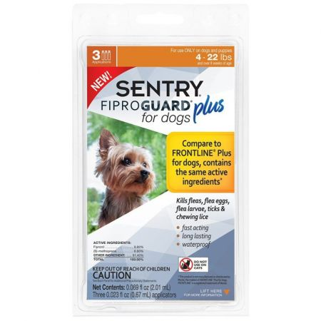 Sentry Sentry Fiproguard Plus IGR for Dogs & Puppies