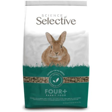 Supreme Science Selective Four+ Rabbit Food alternate view 1