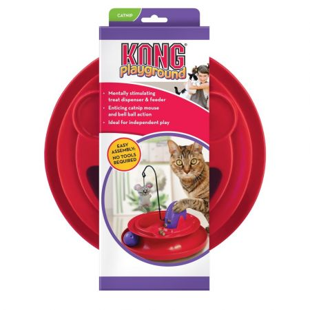 Kong Kong Playground Treat Dispensing Cat Toy