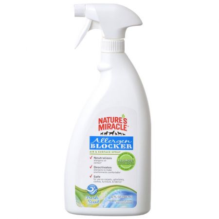 Natures Miracle Nature's Miracle Allergen Blocker Air & Surface Spray