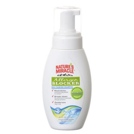 Natures Miracle Nature's Miracle Allergen Blocker Dog Foaming Shampoo