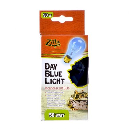 Zilla Zilla Incandescent Day Blue Light Bulb for Reptiles