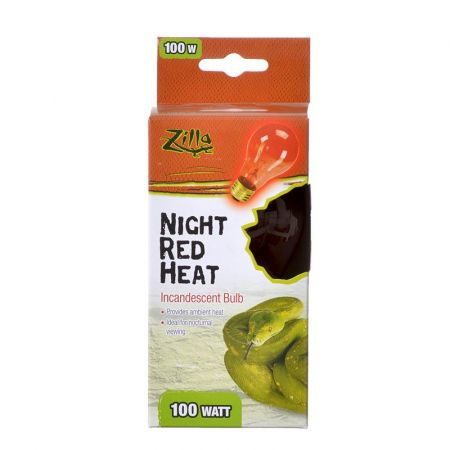 Zilla Zilla Incandescent Night Red Heat Bulb for Reptiles
