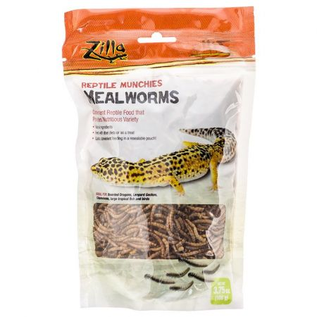 Zilla Zilla Reptile Munchies - Mealworms