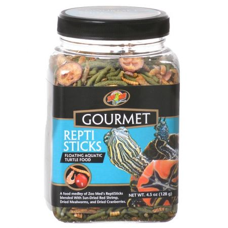 Zoo Med Zoo Med Gourmet Repti Sticks Floating Aquatic Turtle Food