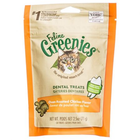 Greenies Greenies Feline Dental Treats - Oven Roasted Chicken Flavor