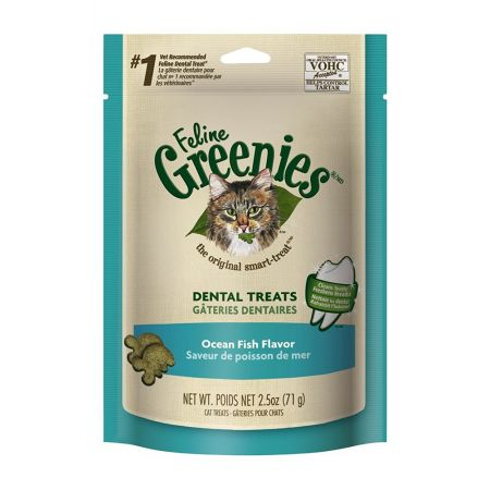 Greenies Greenies Feline Dental Treats - Ocean Fish Flavor