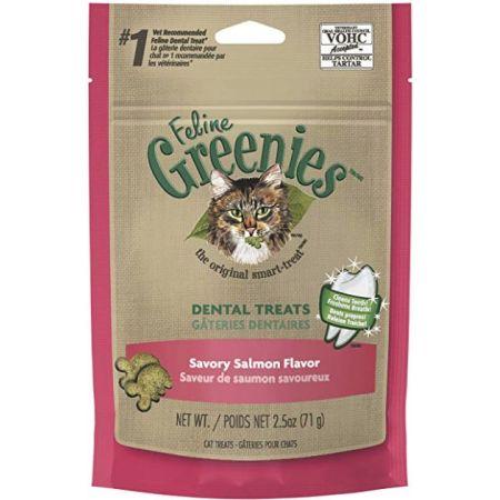 Greenies Greenies Feline Dental Treats - Savory Salmon Flavor