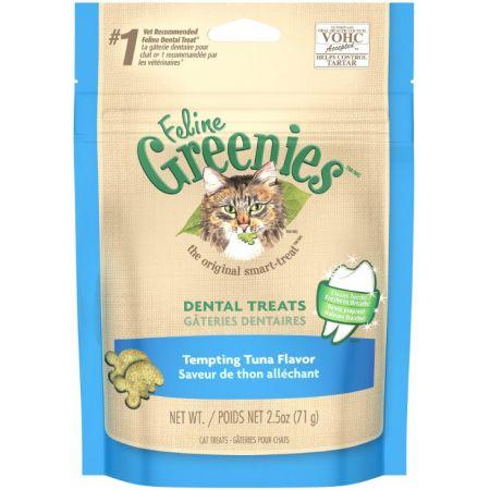 Greenies Greenies Feline Dental Treats - Tempting Tuna Flavor