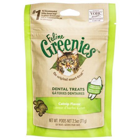 Greenies Greenies Feline Dental Treats - Catnip Flavor