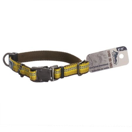 Coastal Pet K9 Explorer Reflective Adjustable Dog Collar - Goldenrod