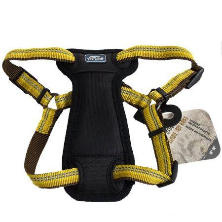 Coastal Pet K9 Explorer Reflective Adjustable Padded Dog Harness - Goldenrod