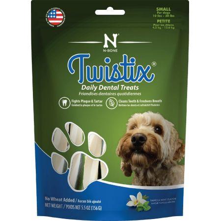 Twistix Twistix Wheat Free Dental Dog Treats - Vanilla Mint Flavor