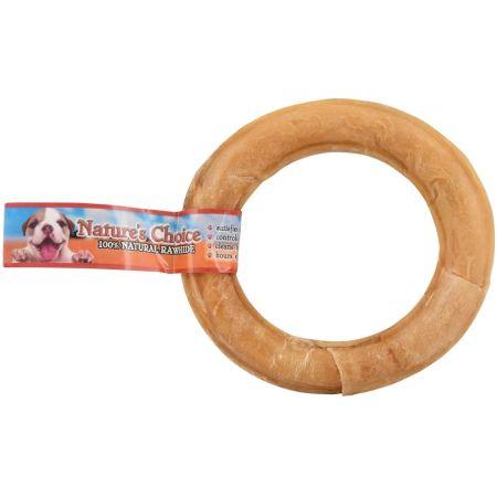 Loving Pets Loving Pets Nature's Choice Pressed Rawhide Donut