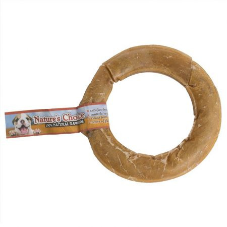 Loving Pets Loving Pets Nature's Choice Pressed Rawhide Donut