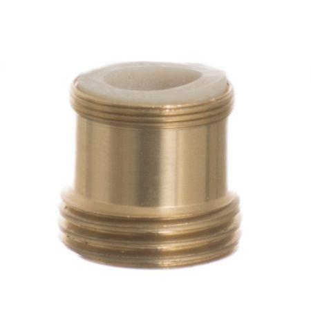 Python No Spill Clean & Fill Standard Brass Adapter