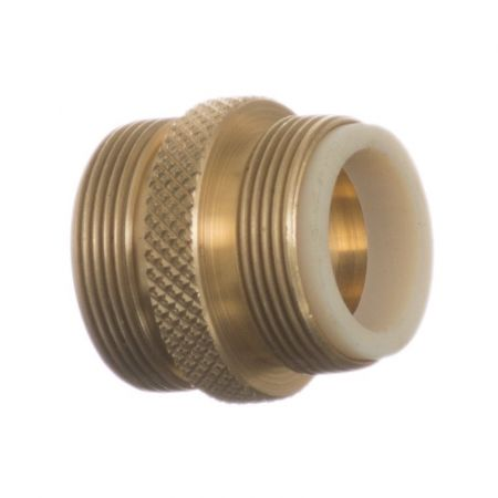 Python Products Python No Spill Clean & Fill Male Brass Adapter