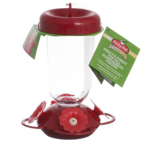 Perky Pet Perky Pet Red Flower Top Fill Plastic Hummingbird Feeder