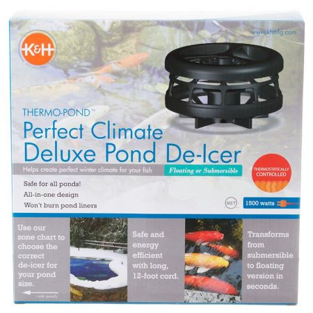 K&H Pet Products Thermo-Pond Perfect Climate Deluxe Pond De-Icer alternate view 2