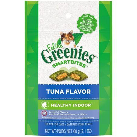 Greenies Greenies SmartBites Hairball Control Tuna Flavor Cat Treats