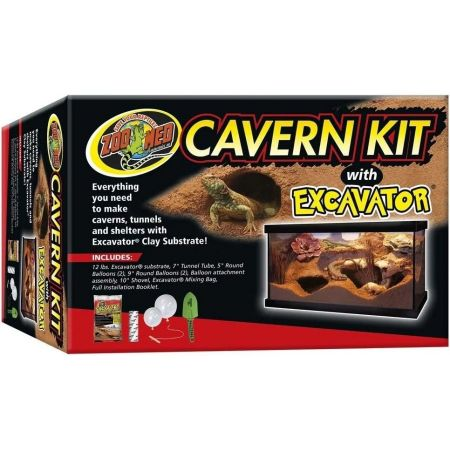 Zoo Med Zoo Med Cavern Kit with Excavator