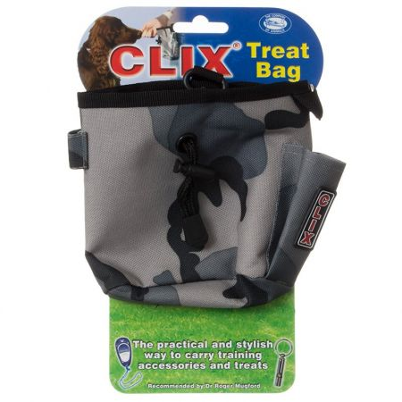 Company of Animals Company of Animals Clix Combat Grey Treat Bag