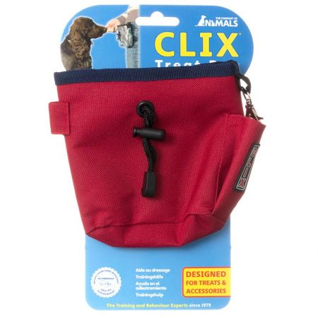 Company of Animals Company of Animals Clix Red Treat Bag
