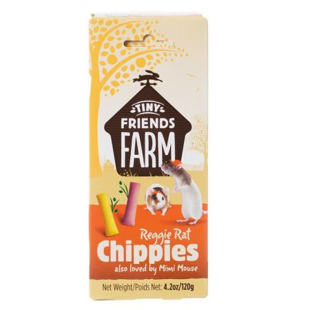 Supreme Pet Foods Tiny Friends Farm Reggie Rat Chippies