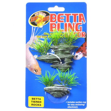 Zoo Med Zoo Med Betta Bling Tiered Rocks Decor