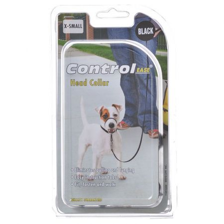 Control Ease Head Collar - Black