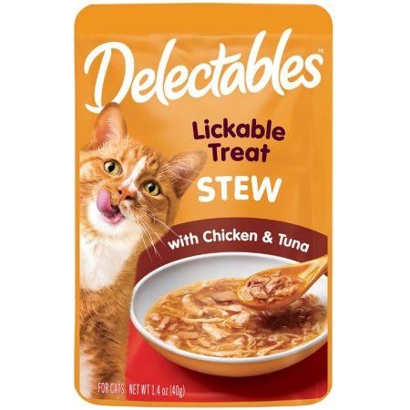 Hartz Hartz Delectables Stew Lickable Cat Treats - Chicken & Tuna