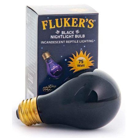 Flukers Black Nightlight Incandescent Bulb alternate view 2