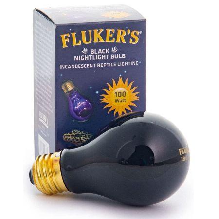 Flukers Black Nightlight Incandescent Bulb alternate view 3