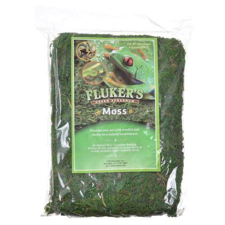 Flukers Fluker's Green Sphagnum Moss
