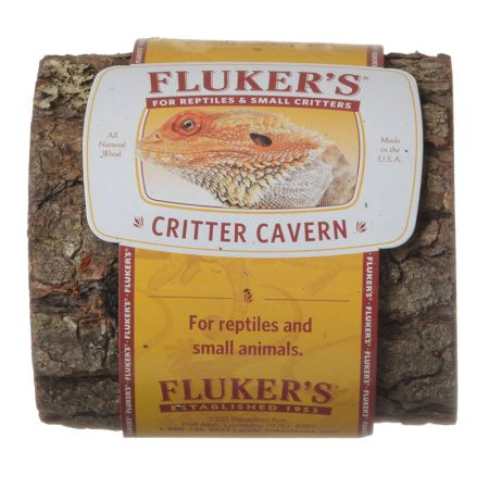 Flukers Flukers Critter Cavern Half-Log