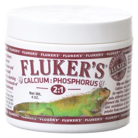 Flukers Flukers Calcium:Phosphorous 2:1 Supplement