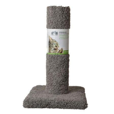 North American Pet Products Classy Kitty Cat Carpet Scratching Post