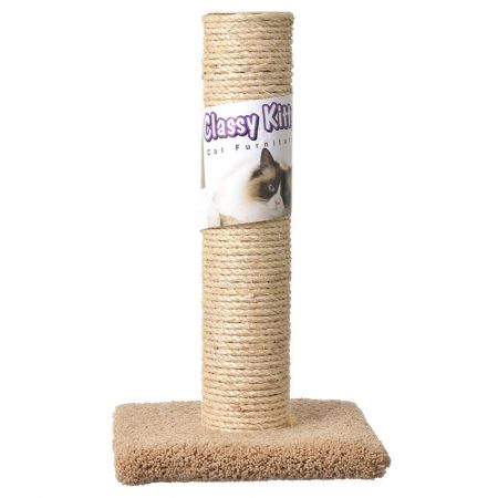 North American Pet Products Classy Kitty Cat Sisal Scratching Post