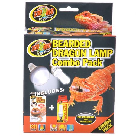 Zoo Med Zoo Med Bearded Dragon Lamp Combo Pack