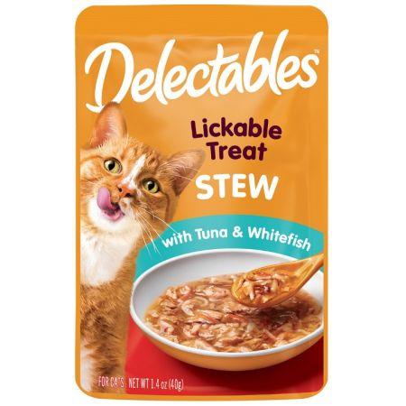 Hartz Hartz Delectables Stew Lickable Cat Treats - Tuna & Whitefish