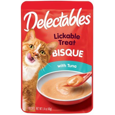 Hartz Hartz Delectables Bisque Lickable Cat Treats - Tuna