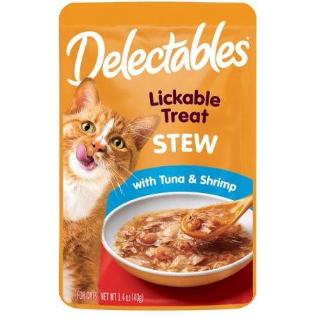 Hartz Hartz Delectables Stew Lickable Cat Treats - Tuna & Shrimp