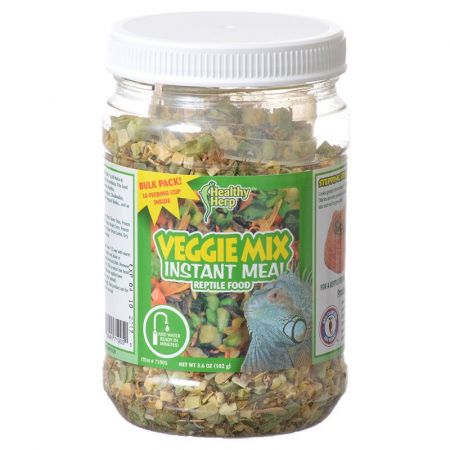 Healthy Herp Healthy Herp Veggie Mix Instant Meal Reptile Food