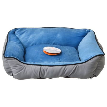 K&H Pet Products K&H Pet Products Self Warming Sleeper Lounge - Gray & Blue