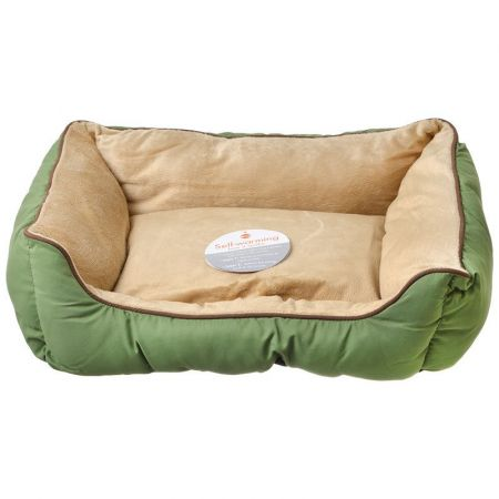 K&H Pet Products K&H Pet Products Self Warming Sleeper Lounge - Sage & Tan